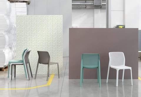 Bit Side Chair - Net Collection Nardi