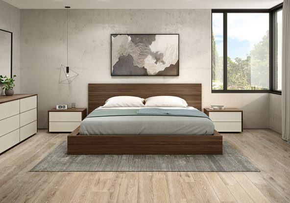 Camillia bed with Mya collection-1